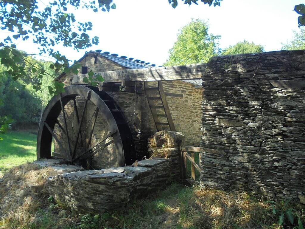 Los molinos de Castroverde, una joya de la Galicia rural