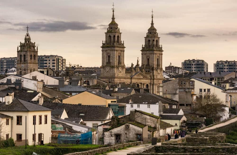Visitamos algunos rincones históricos de Lugo