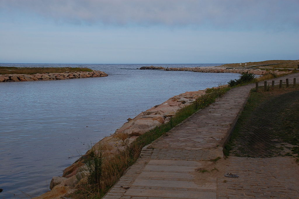 Desembocadura del río Ouro