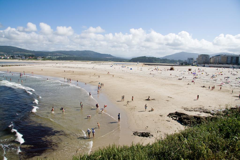 Playa Rapadoira en junio en Foz