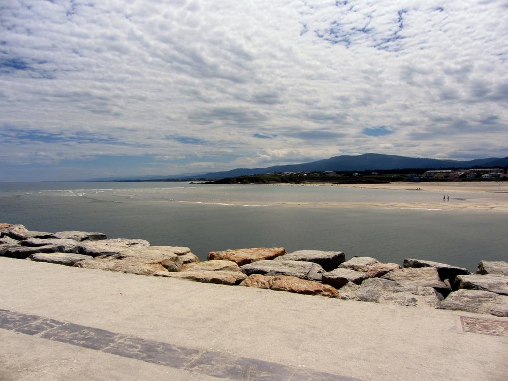 Playa en Foz