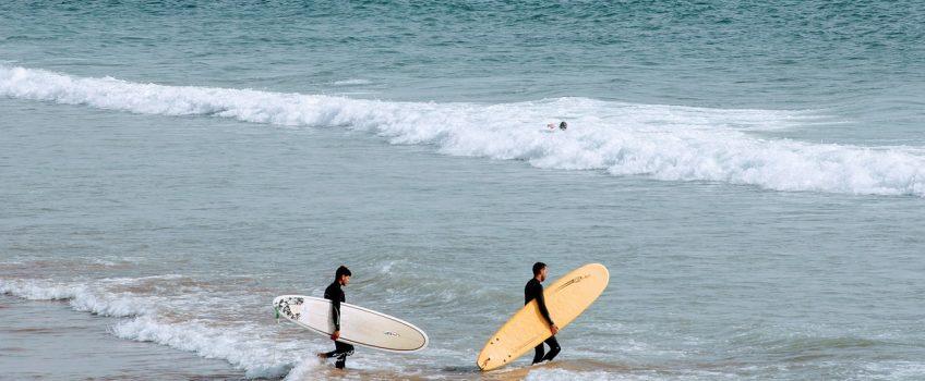 Hacer surf en Foz