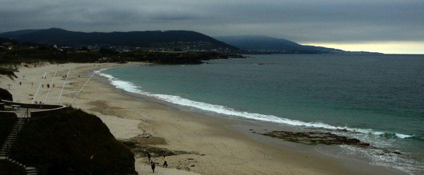 Playa de Llás en Foz