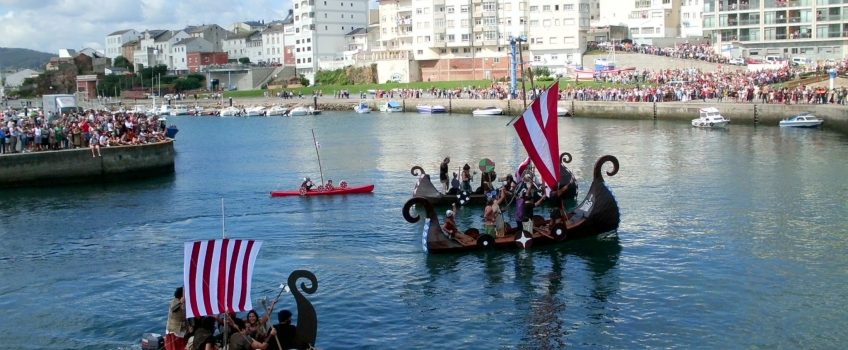 Fiestas en Foz, desembarco normando