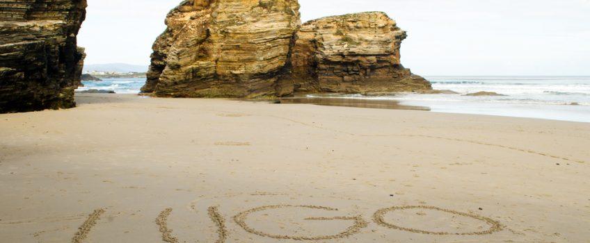 Playa de Las Catedrales, una de las mejores playas de la provincia de Lugo