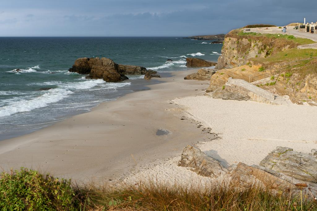 Temperatura del agua en Foz en junio. Playa Remior