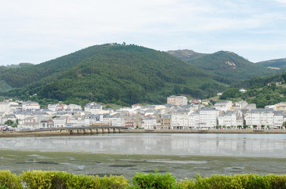 Una excursión a Viveiro, vista del pueblo