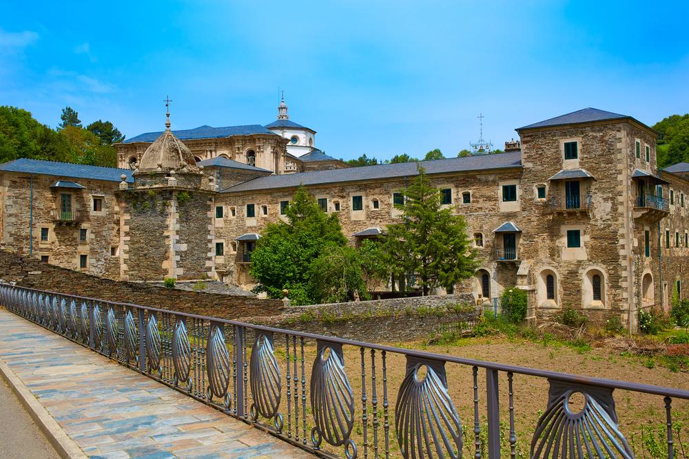 Monasterios gallegos: Samos