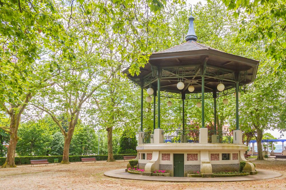 Parque de Rosalía de Castro en Lugo