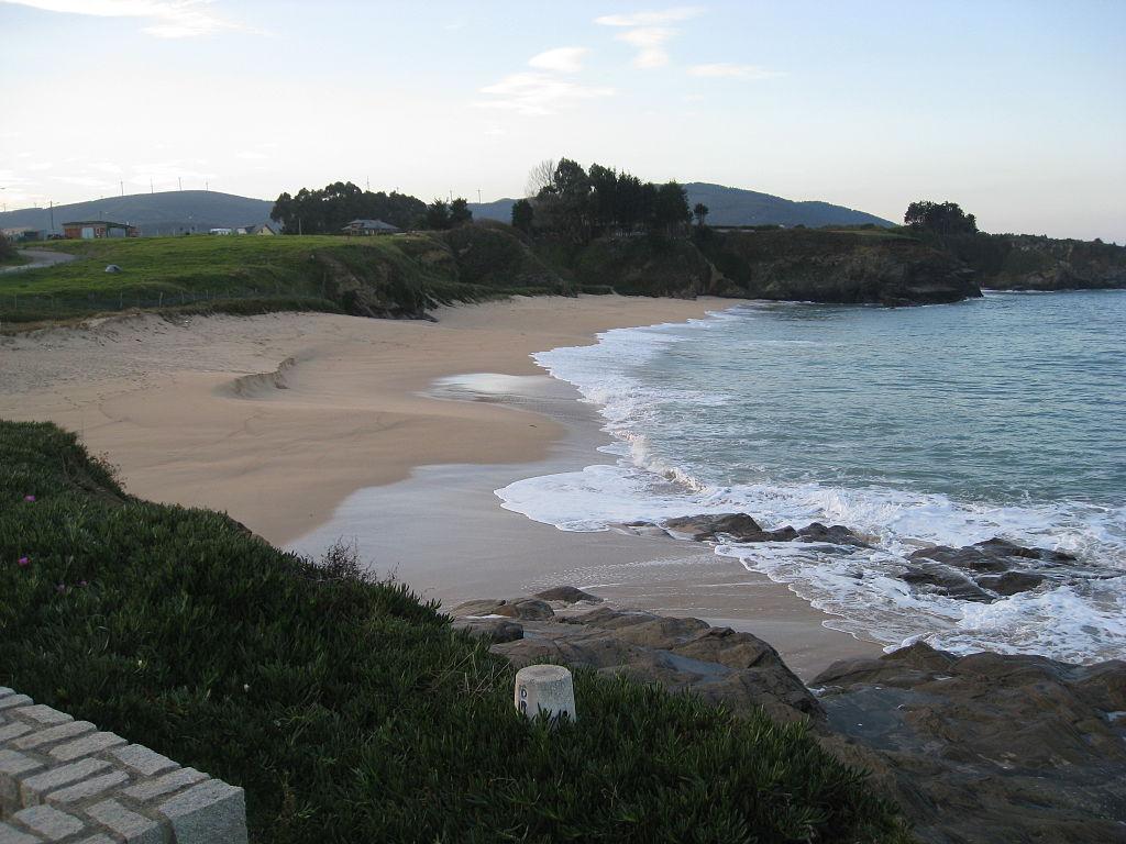 Praia das Polas en Foz