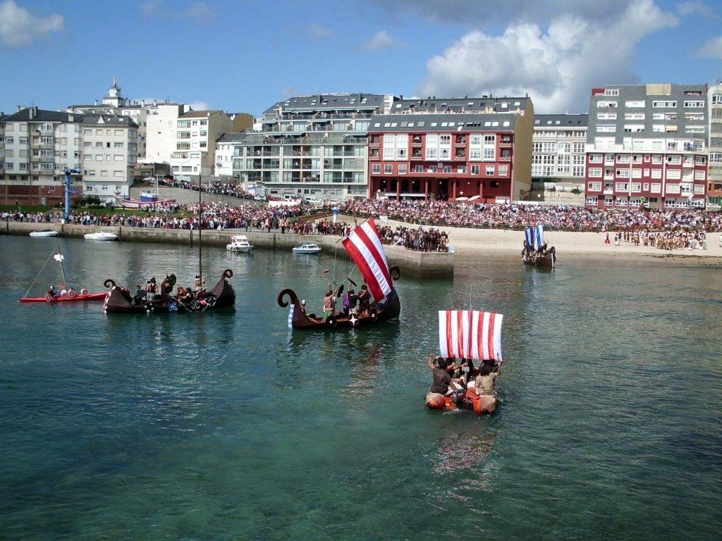 Fiesta Normanda en Foz
