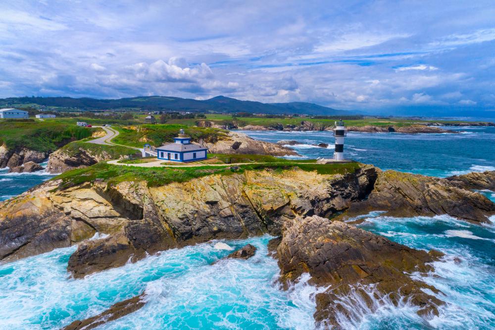 Isla Pancha en la Mariña Lucense