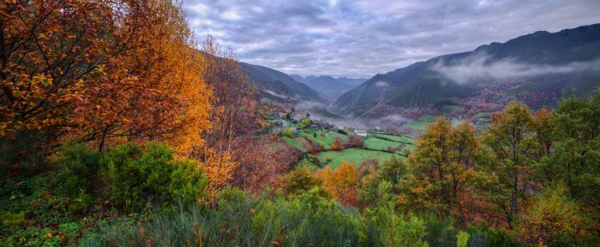Viaje a Galicia en otoño, Navia de Suarna