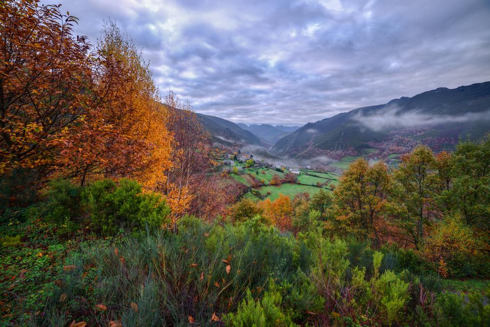 Galicia en otoño, Navia de Suarna