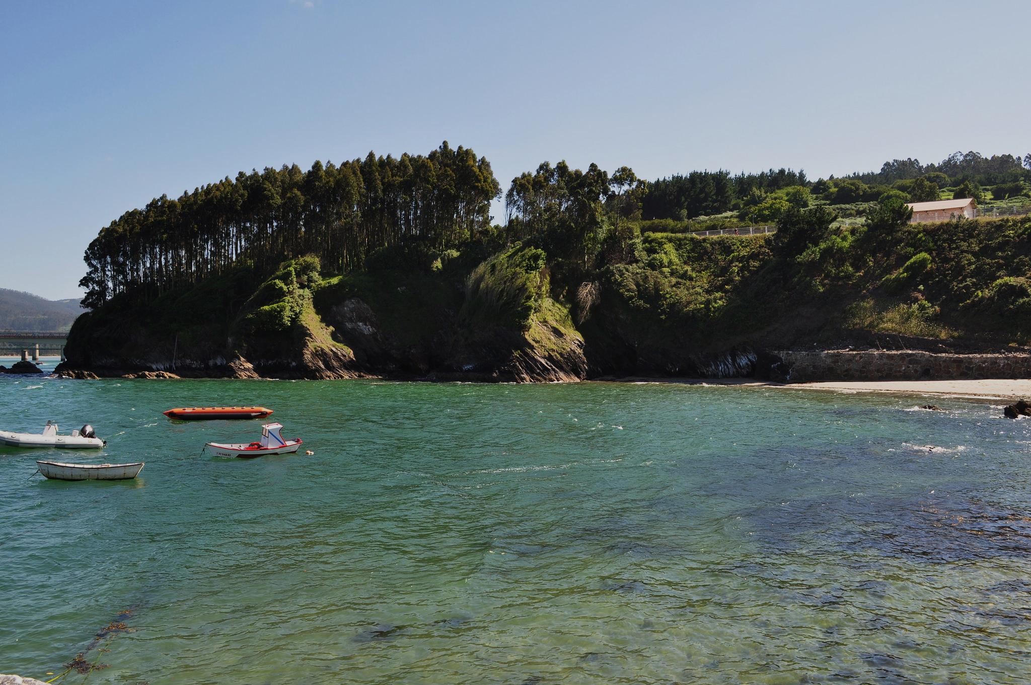 Rías de Lugo, ría del Barquero