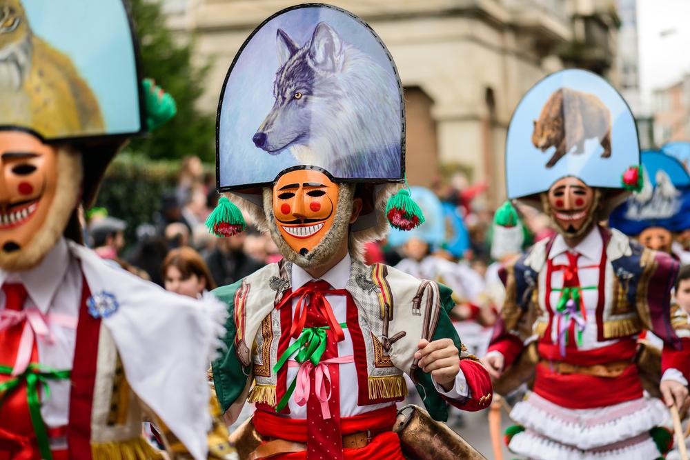 Carnaval de Verín, una de las fiestas de Galicia