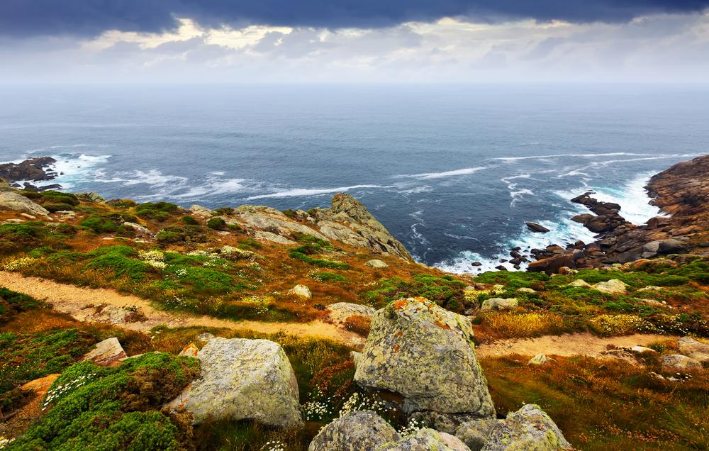 Costa de Galicia en otoño