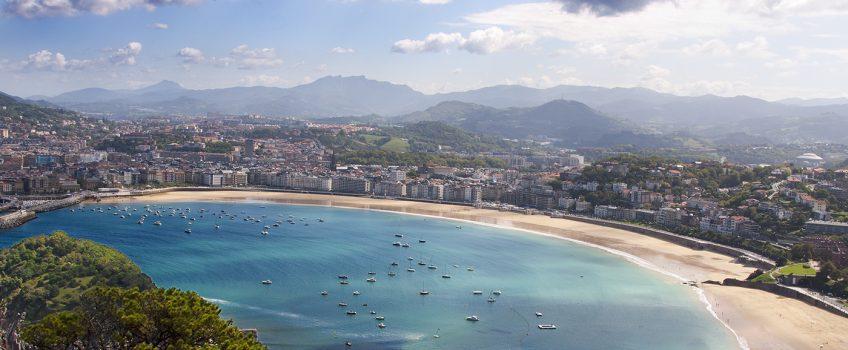 Playas de España: La Concha en San Sebastián