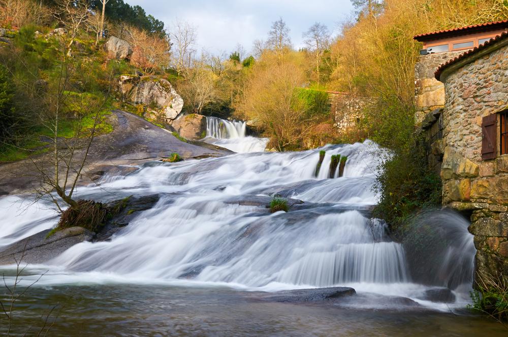 Otoño en Galicia: río Barosa