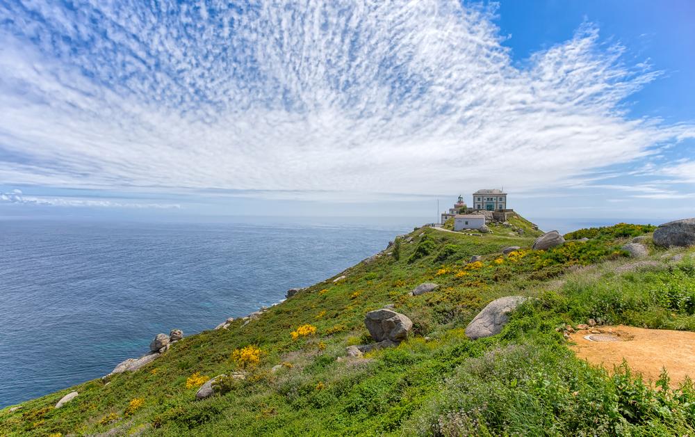 Vista del Cabo Fisterra