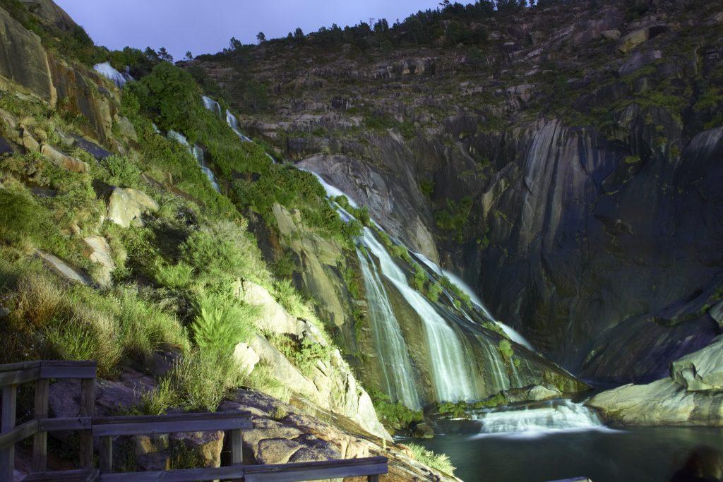 Cascadas de Galicia: Ézaro
