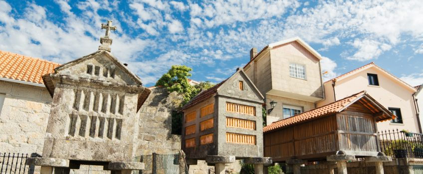 Combarro, una de las villas marineras de Galicia