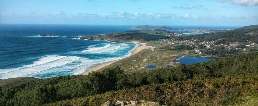 Playa de Doniños, una de las playas de Galcia más bellas