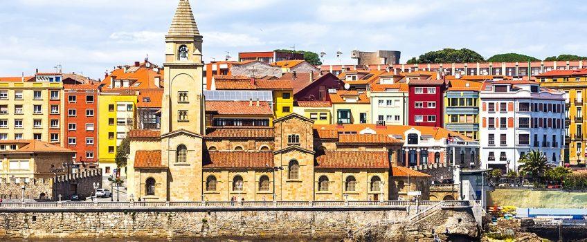 Excursión a Gijón desde Foz, vista de la ciudad