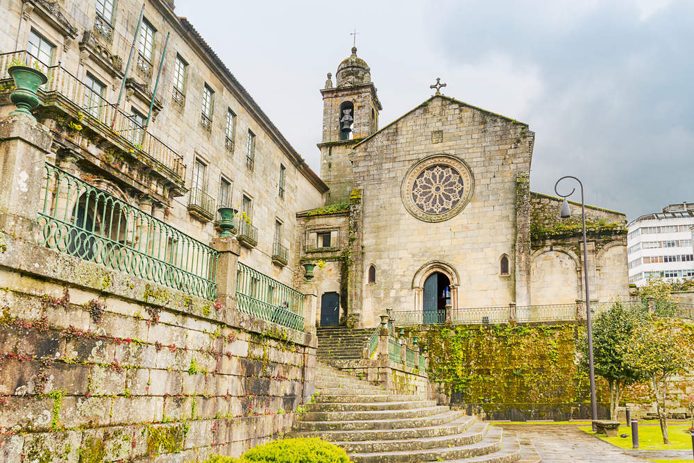 Iglesia de San Francisco en Pontevedra