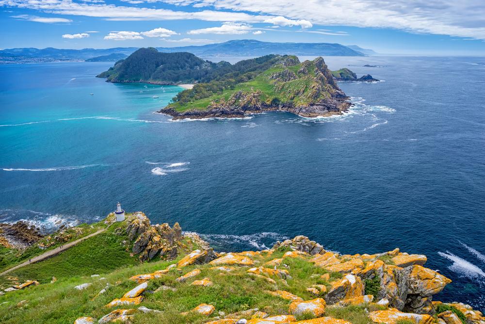 Islas Cíes en el Parque Nacional de las Islas Atlánticas
