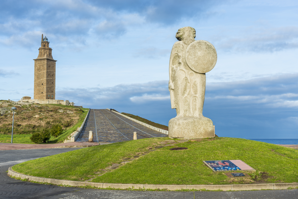 Torre de Hércules, escenario de leyendas gallegas