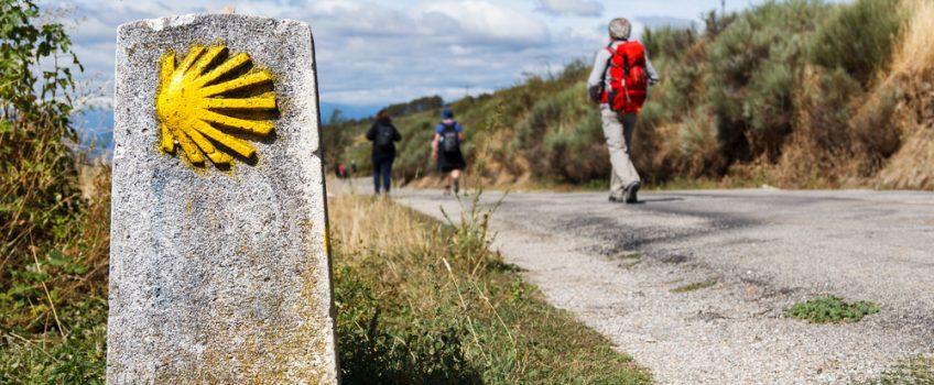 Indicador para recorrer el Camino de Santiago