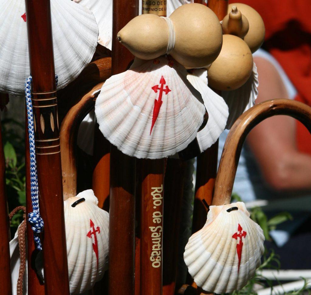 Concha del Peregrino, uno de los souvenirs de Galicia
