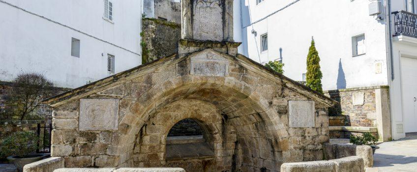 Fonte Vella en la villa de Mondoñedo