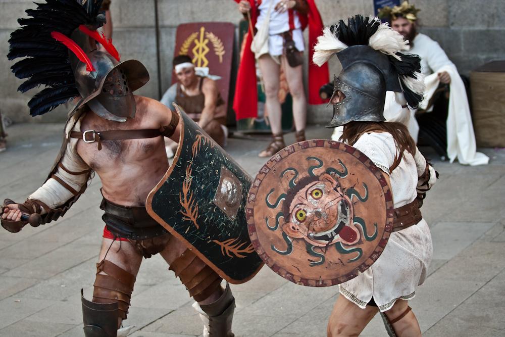 Gladiadores de Arde Lucus