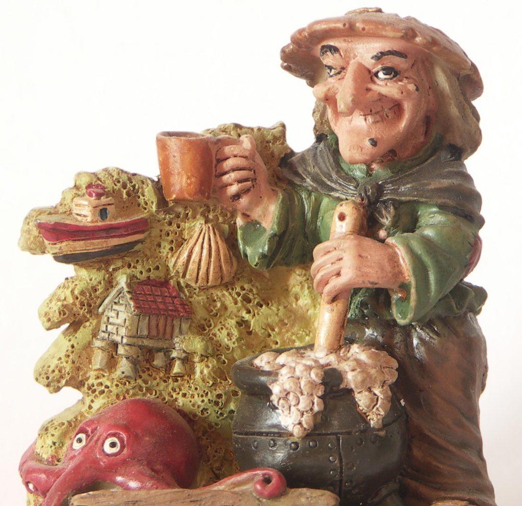 Meiguiña, uno de los souvenirs de Galicia