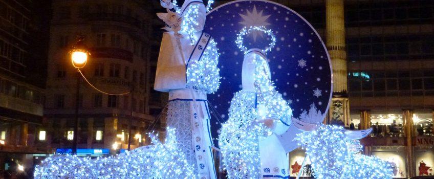 Galicia en Navidad, belén en A Coruña
