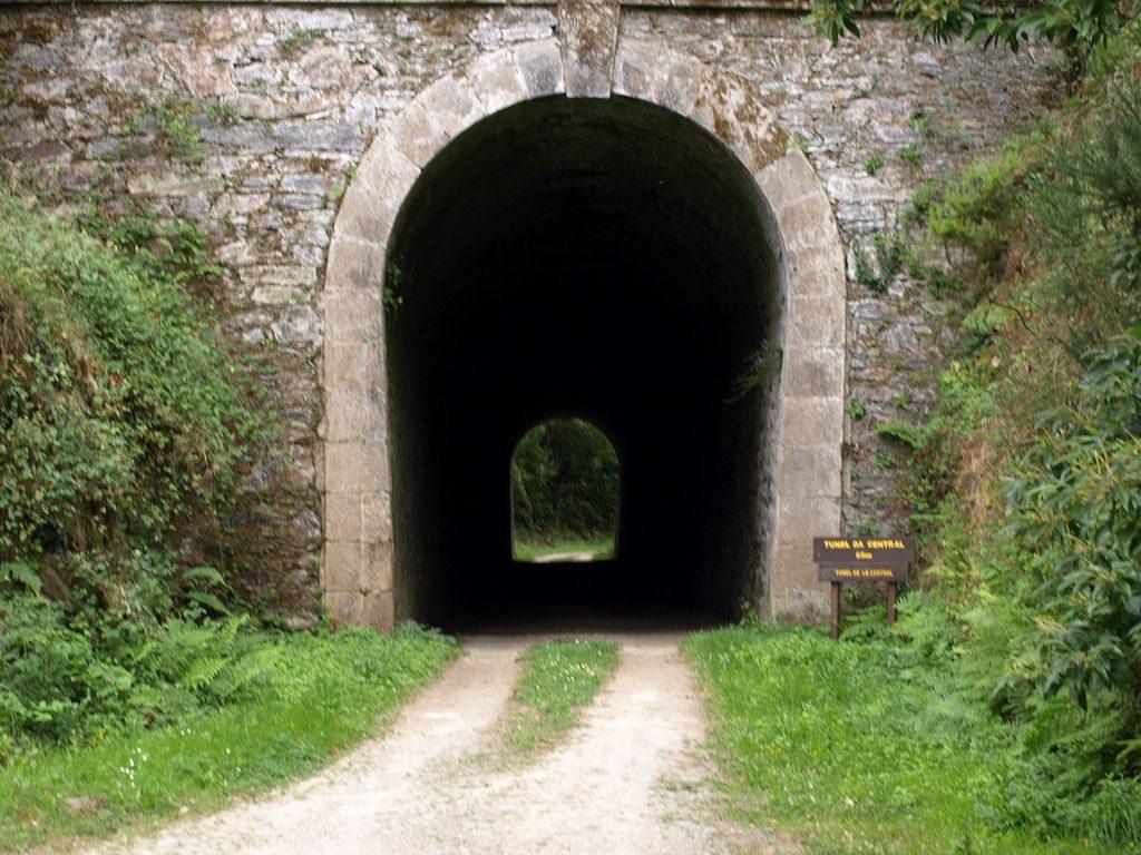 Túnel en San Tirso de Abres