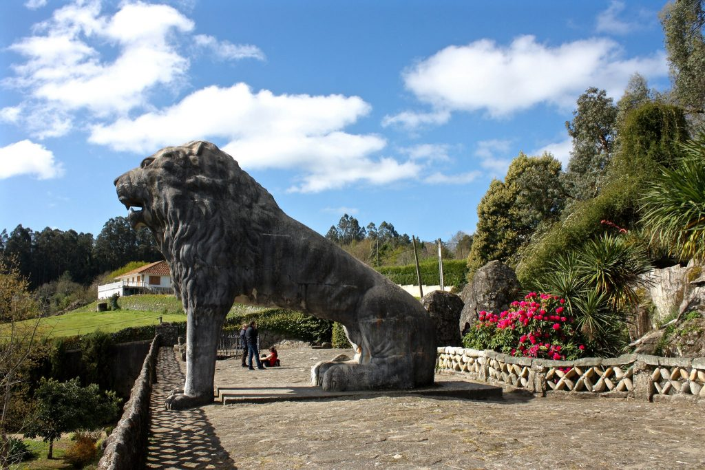 Escultura en el Parque del Pasatiempo