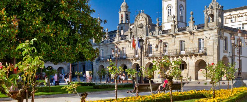 Lugo intramuros, vista de ayuntamiento