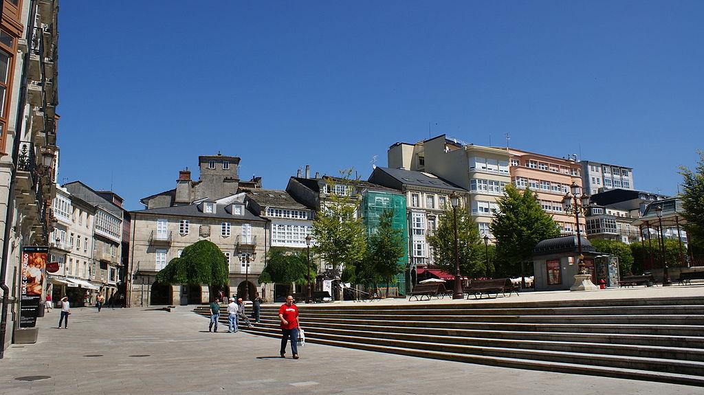 Plaza Mayor de Lugo para ir de tapeo