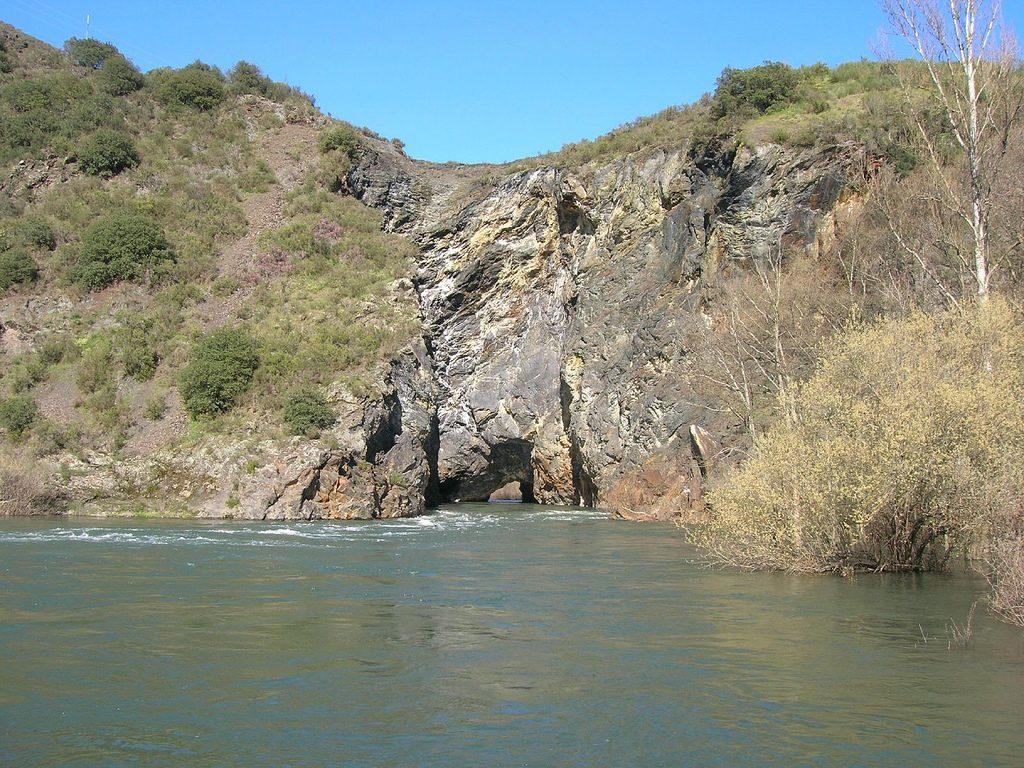 Túnel de Montefourado en la comarca de Quiroga