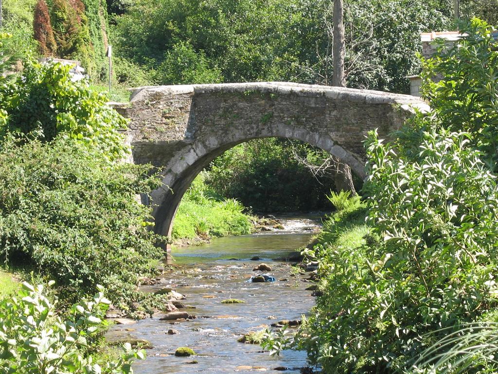 Vista de las rutas senderistas en Mondoñedo