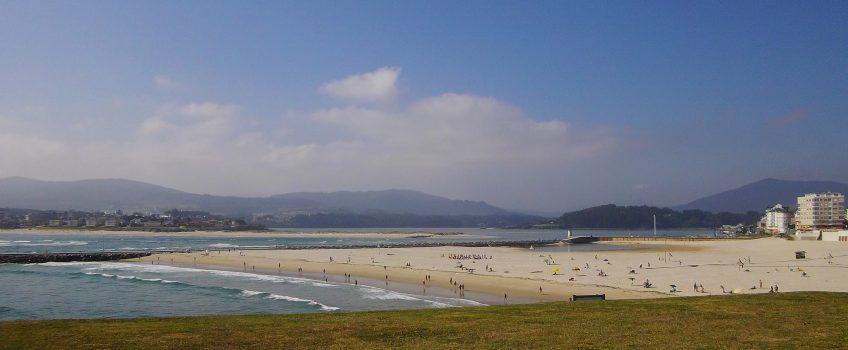 Vista de las playas de Foz