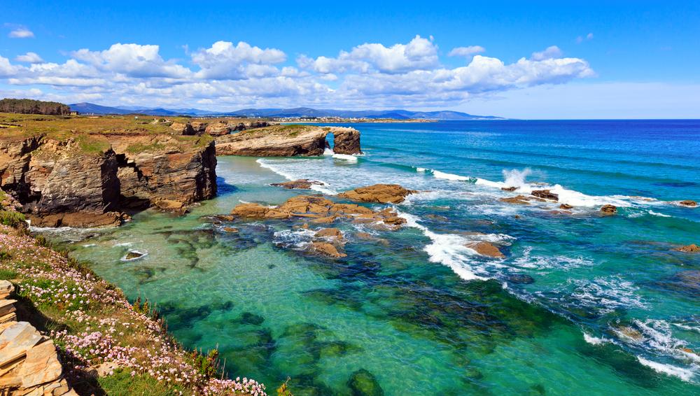 Paisajes de Lugo: playa de las Ctedrales